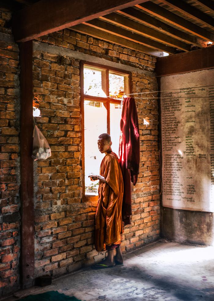 birma zycie mnichow